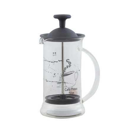 Hario French Press Transparent Slim S Čierny